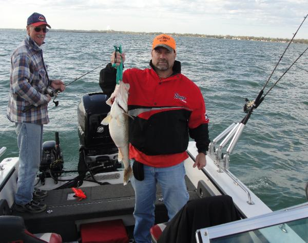 2013 lake erie walleye perch fishing pictures fishcrazy for Fishing charters cleveland ohio